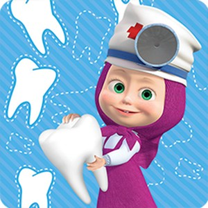 Маша и Медведь Стоматолог
