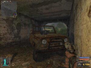 Сталкер Тень Чернобыля – ящик с патронами под мостом